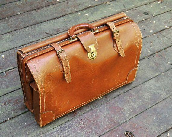 vintage leather briefcase via callooh callay   Mr. Brown ...