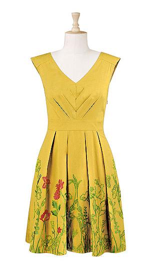 Yellow spring dress | Dare I Dream | Pinterest | Yellow spring ...