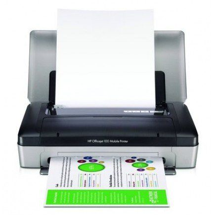 Hp Officejet 100 Mobile Printer Mobile Printer Printer Inkjet Printer