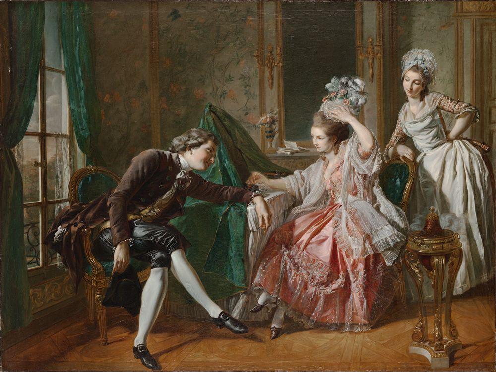 Αποτέλεσμα εικόνας για two women one man in bed paintings