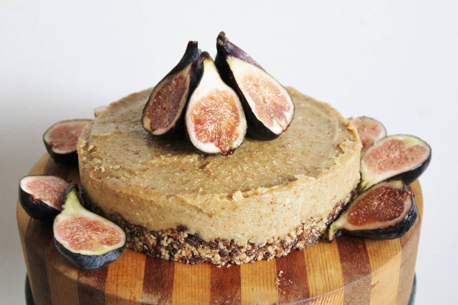 Raw Lemon And Fig Cheesecake Vegan Gluten Free Food Vegan