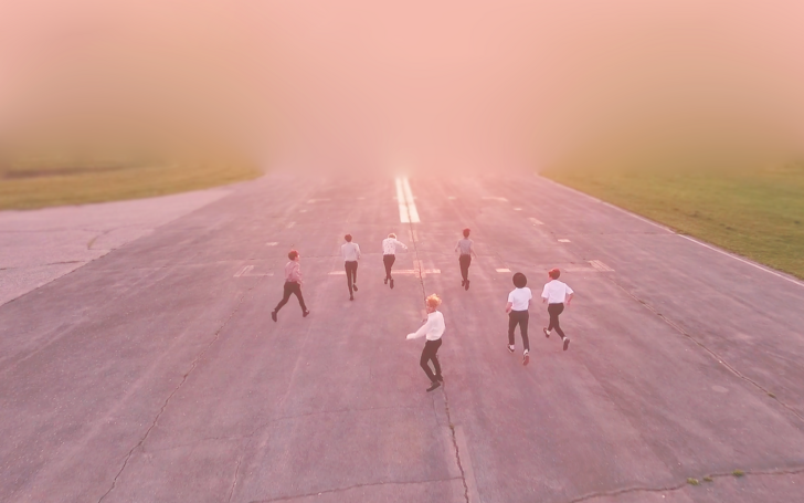 Young Forever Pink Desktop Wallpapers Bts Wallpaper Desktop Bts Laptop Wallpaper Desktop Wallpaper