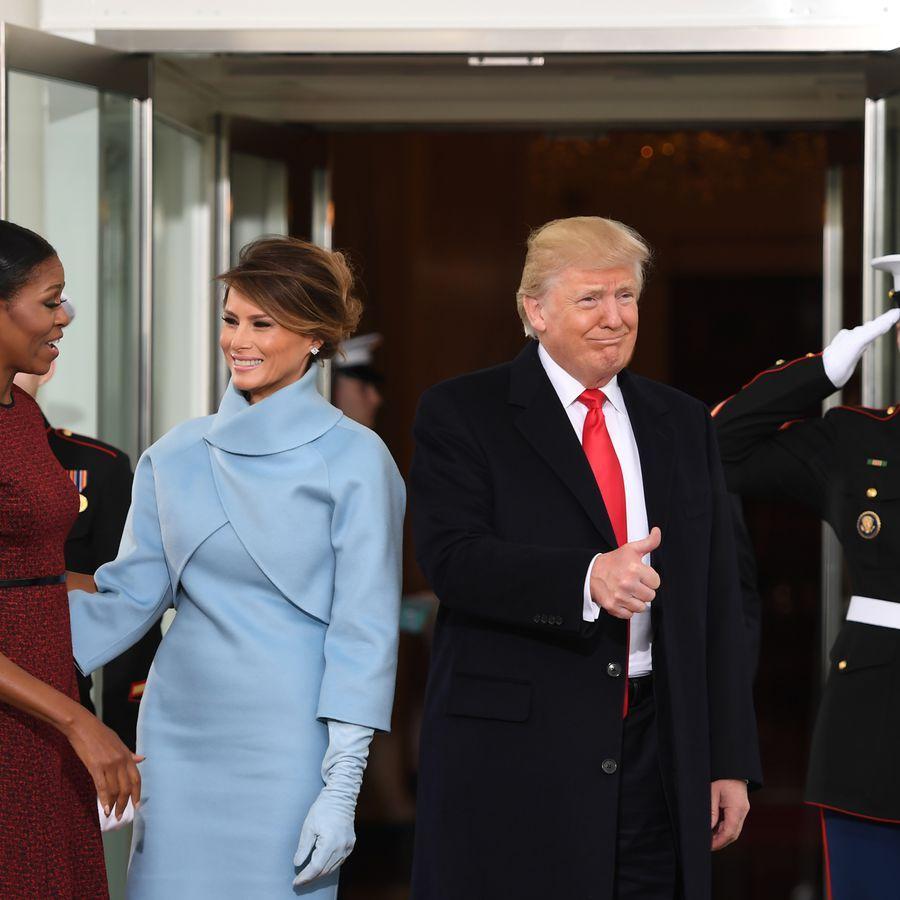 Donald Trump Et Barack Obama Passage De Tmoin La Maison Blanche