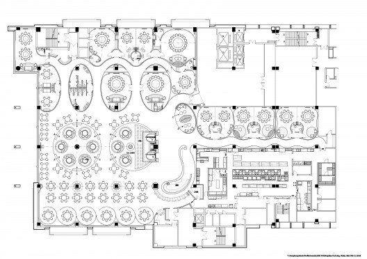 Jardin De Jade Restaurant I P A L Design Consultants Archdaily Plan Pinterest Design