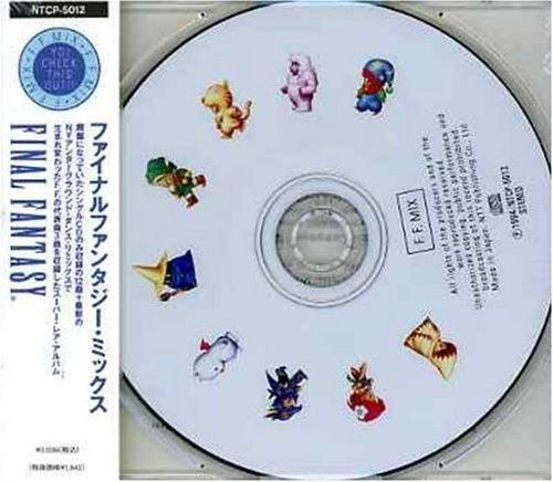 F.F.MIX - Final Fantasy Mix Game Music CD Japan New