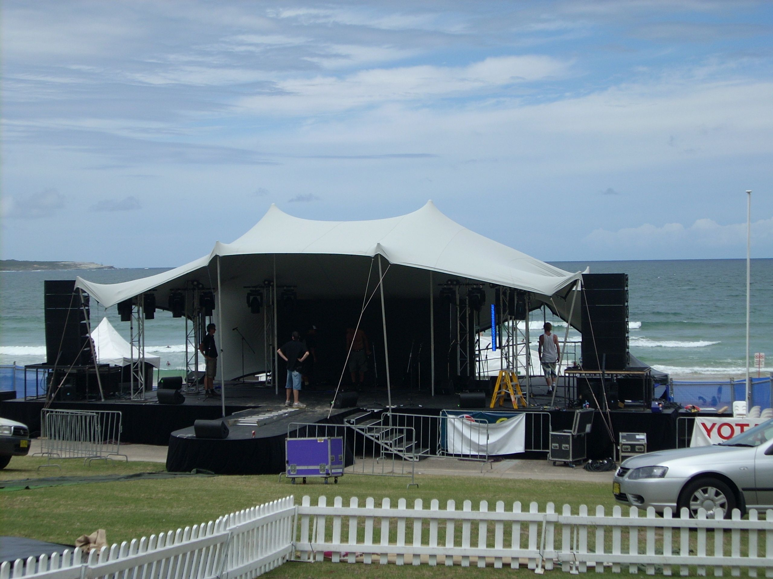 Stretch tent stage cover & Stretch tent stage cover | Tent Decor Inspirations | Pinterest | Tents