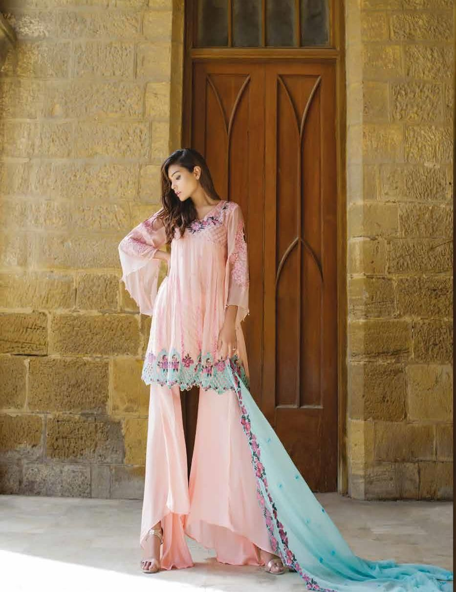 7efe475f56 Akbar Aslam Luxury Chiffon | Ethnic | Dresses, Pakistani dresses ...