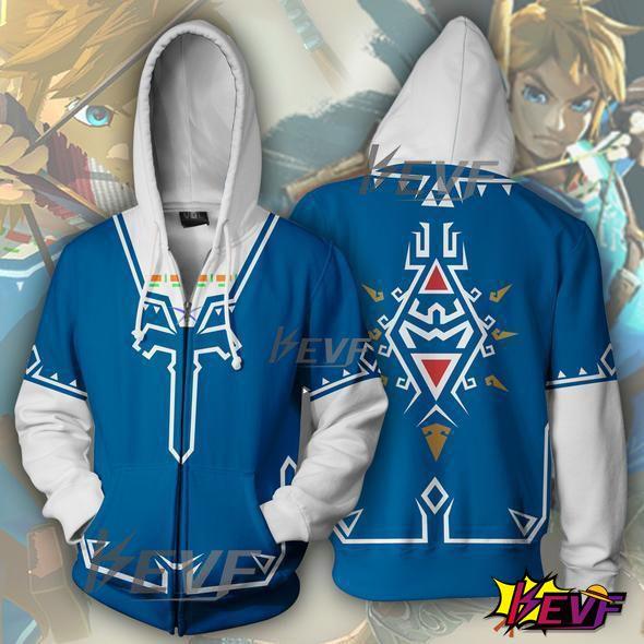 Breath of the Wild Jacket Hoodie Coats Sweatshirts New game The Legend of Zelda