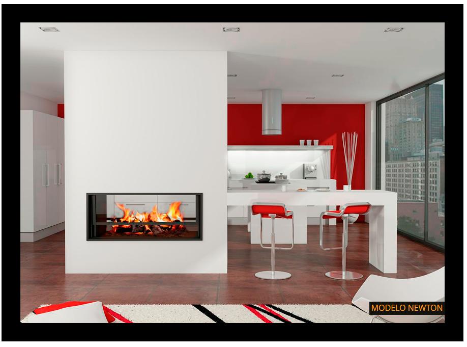 Chimeneas modernas de diseo Chimeneas Magma Home style