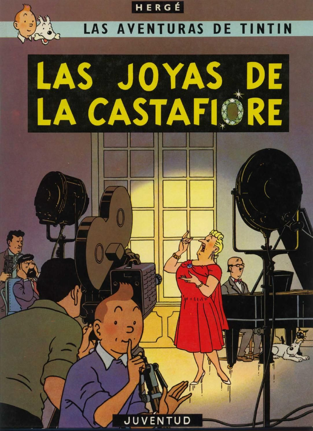 20 Tintin Las Joyas De La Castafiore Tintin Graphic Novel Cartoonist