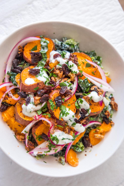 Sweet Potato Salad Recipe With Greek Yogurt
