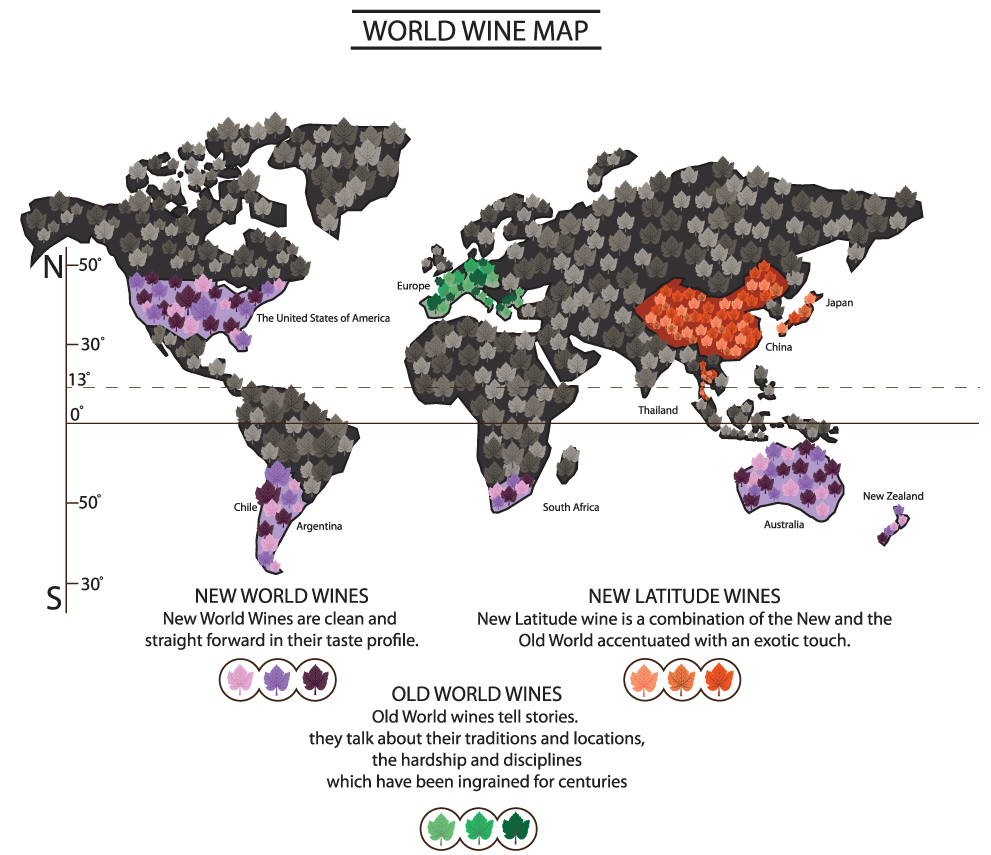 old world wine and new world Gustavo arriaga, sommelier at coquo kl explains the difference between old  world and new world wines, and shares his recommended.