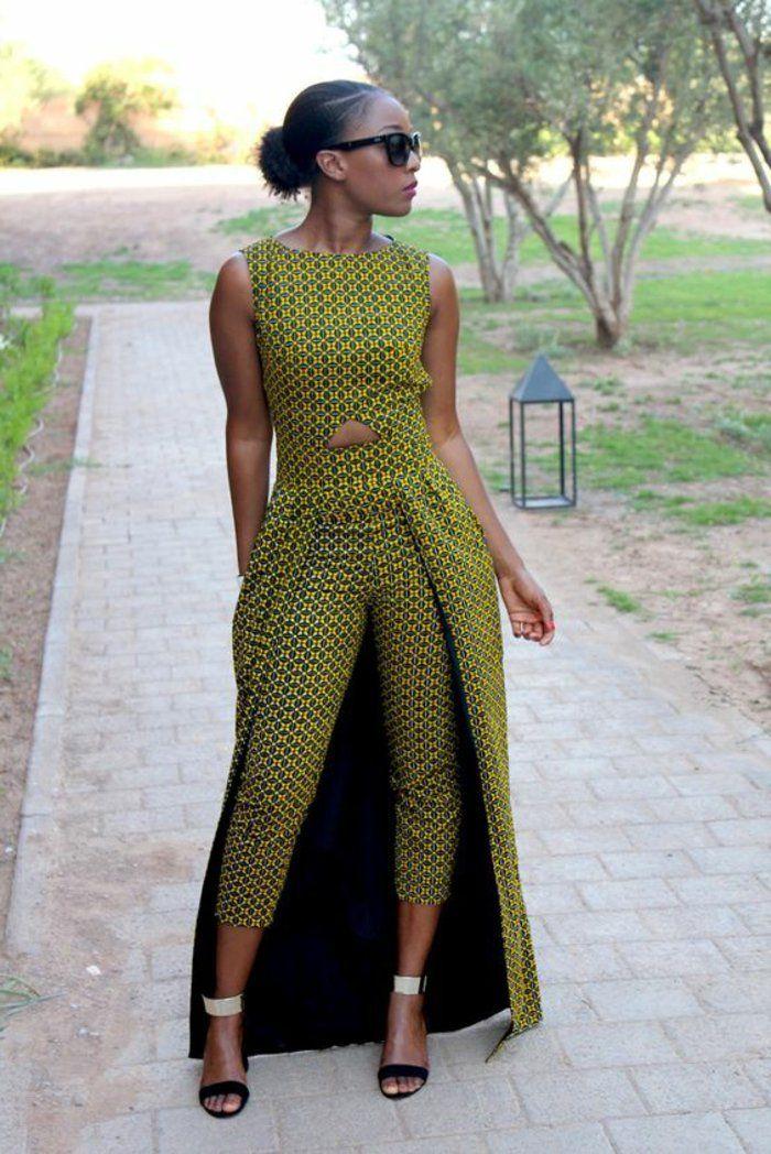 1001 exemples de couture africaine chic de nos jours mode femme pinterest robe africaine. Black Bedroom Furniture Sets. Home Design Ideas