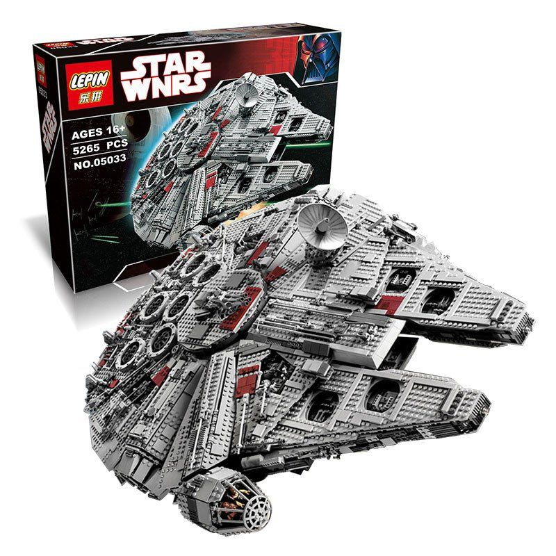 Custom Lego Star Wars Millennium Falcon Set This Custom Set Was
