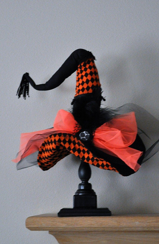 Witch Hat - Halloween Witch Hat - Diva Witch Hat Decor - Halloween ...