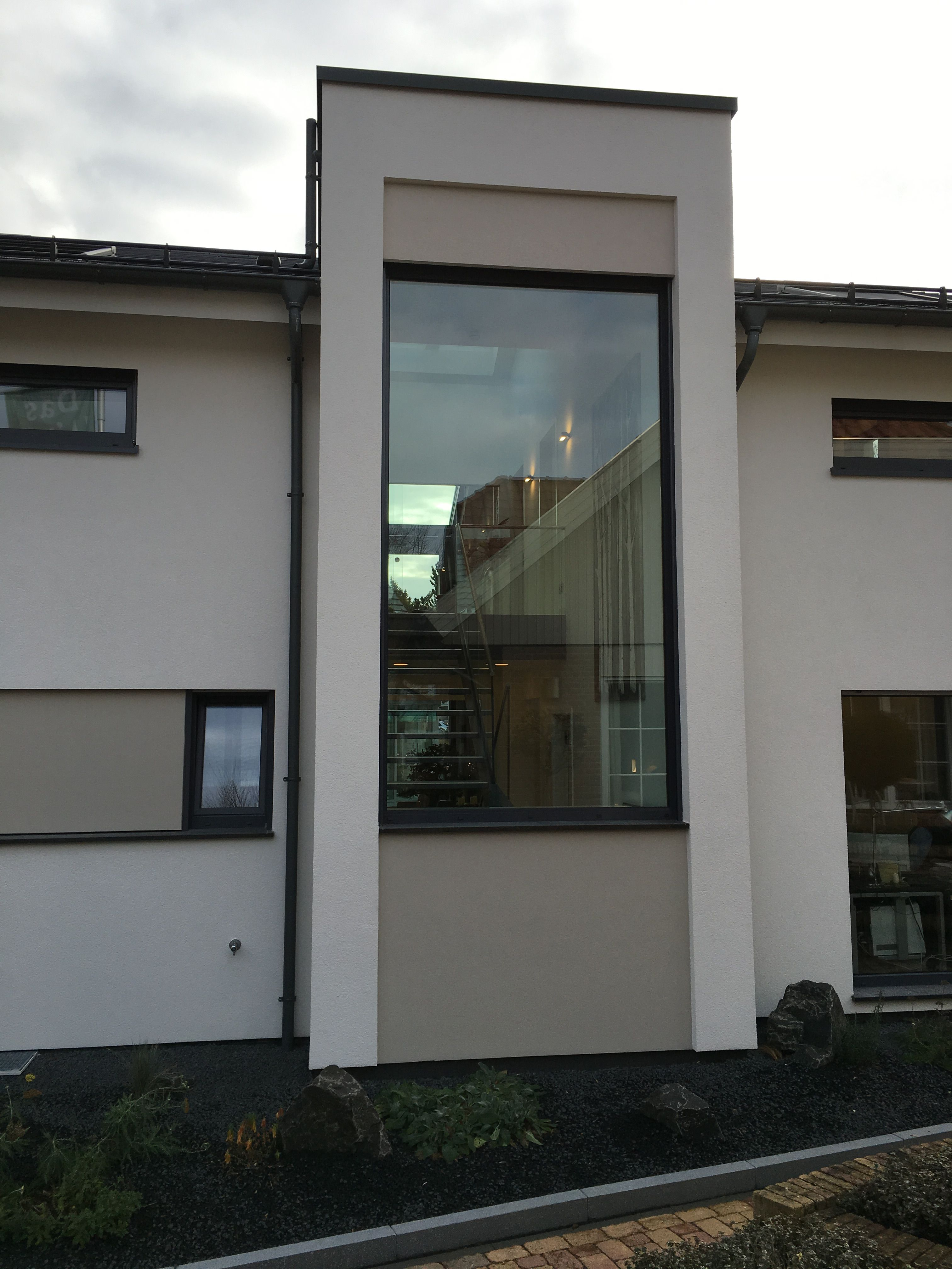Podesttreppe #Panoramafenster #Anbau #Musterhaus | Umbau-Anbau ...