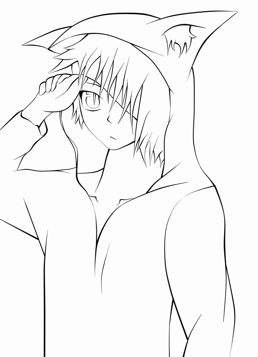 Boy Anime Coloring Pages Lovely Male Base Anime Hoo Coloring Pages Sketch Coloring Page In 2020 Coloring Pages For Boys Boy Coloring Coloring Pages