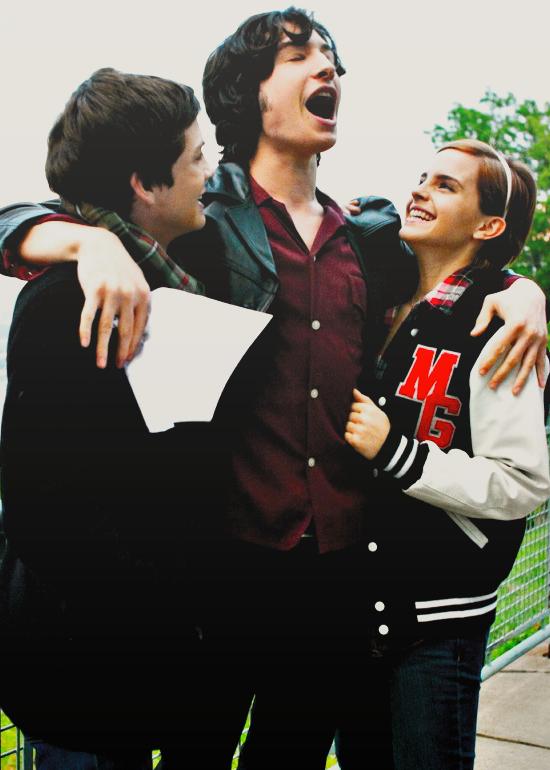 Must watch The Perks Of Being A Wallflower / Logan Lerman, Emma Watson and Ezra Miller