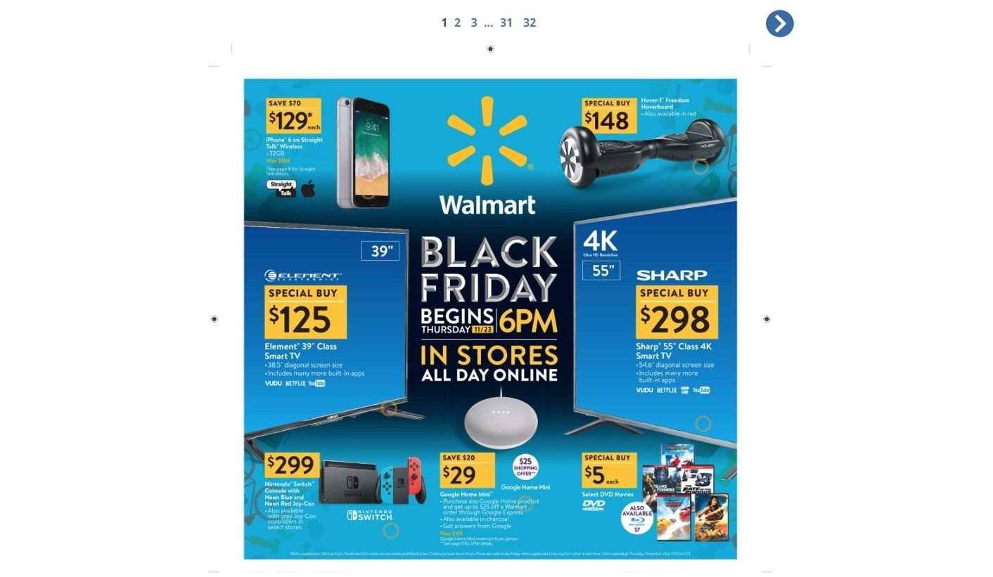 Black Friday 2018 ad for Walmart now live | Xbox One Games ...