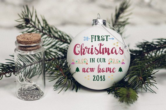 First Christmas In Our New Home Svg.First Christmas In Our New Home Ornament Svg Digital Files