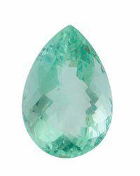 Gemstone: Fluorite - 13.2 Cts. Brazil 17.2 x 12 x 10 mm