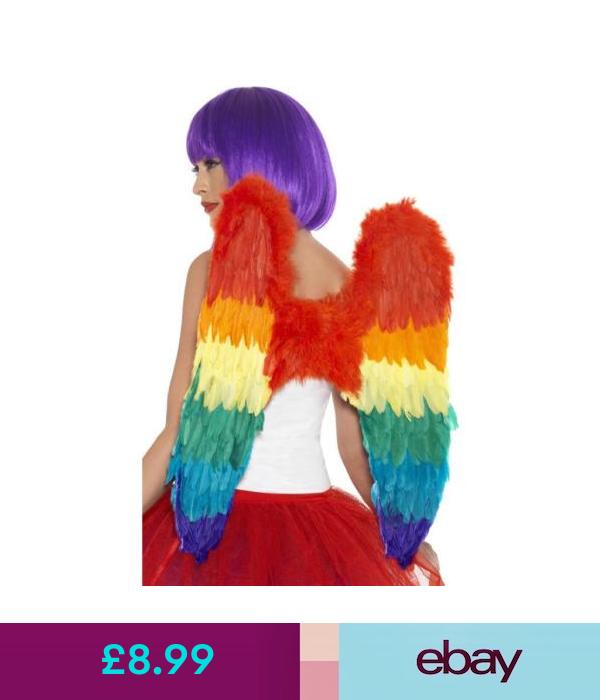 Angel Wings White Feather Smiffys Fancy Dress