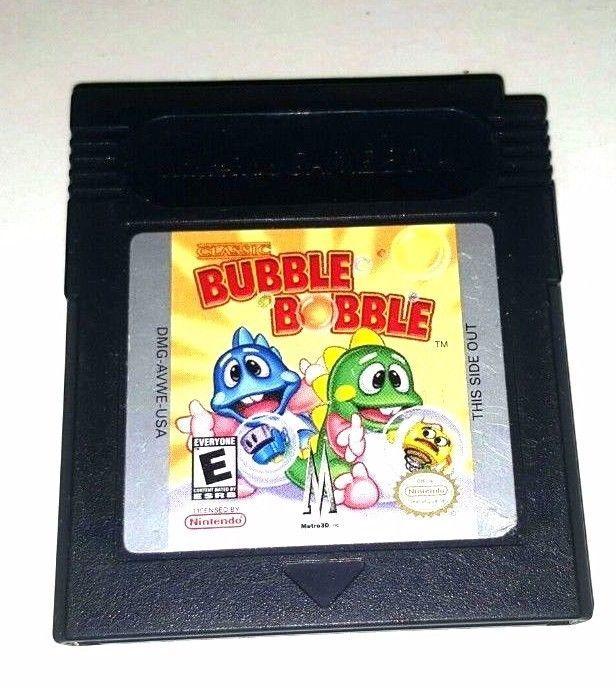 bubble bobble gbc