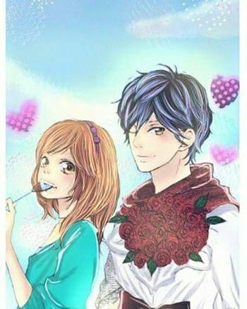 Kou Futaba Ao Haru Ride Blue Spring Ride Anime Casais De Anime Casal