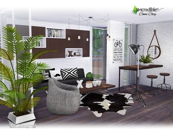 ... Room For Your Sims Enjoy Some Chat With Friends Or A Relaxing Time  After A Full Exhaustive Work Day. Found In TSR Category U0027Sims 4 Living Room  Setsu0027