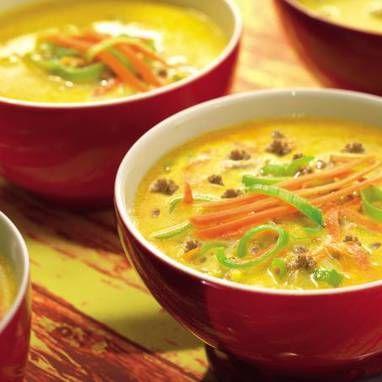 Hackfleisch-Lauch-Suppe – Rezept   Rezept   Hackfleisch ...