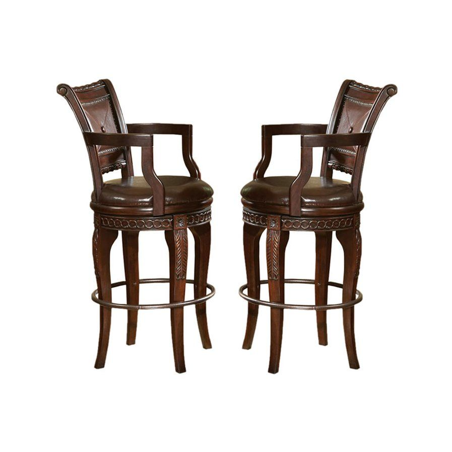 Hassler 30 Swivel Bar Stool Set Of 2 Swivel Bar Stools Bar Chairs Bar Stools