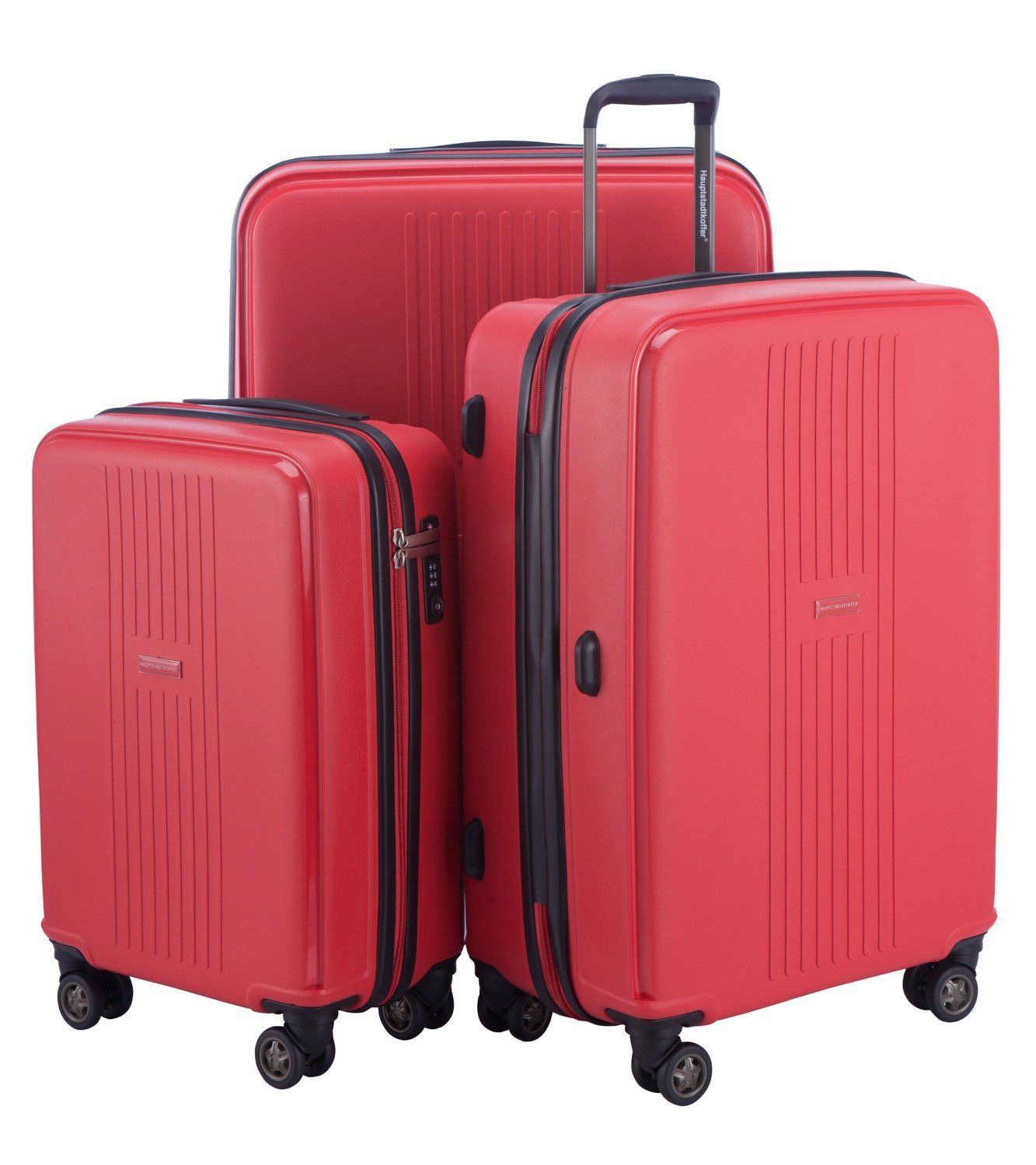 104c726f6425 HAUPTSTADTKOFFER - F-Hain - Set of 3 Hard-side Luggages matt ...
