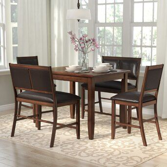 June Clearance Wayfair Dining Set With Bench Counter Height Dining Sets Solid Wood Dining Set