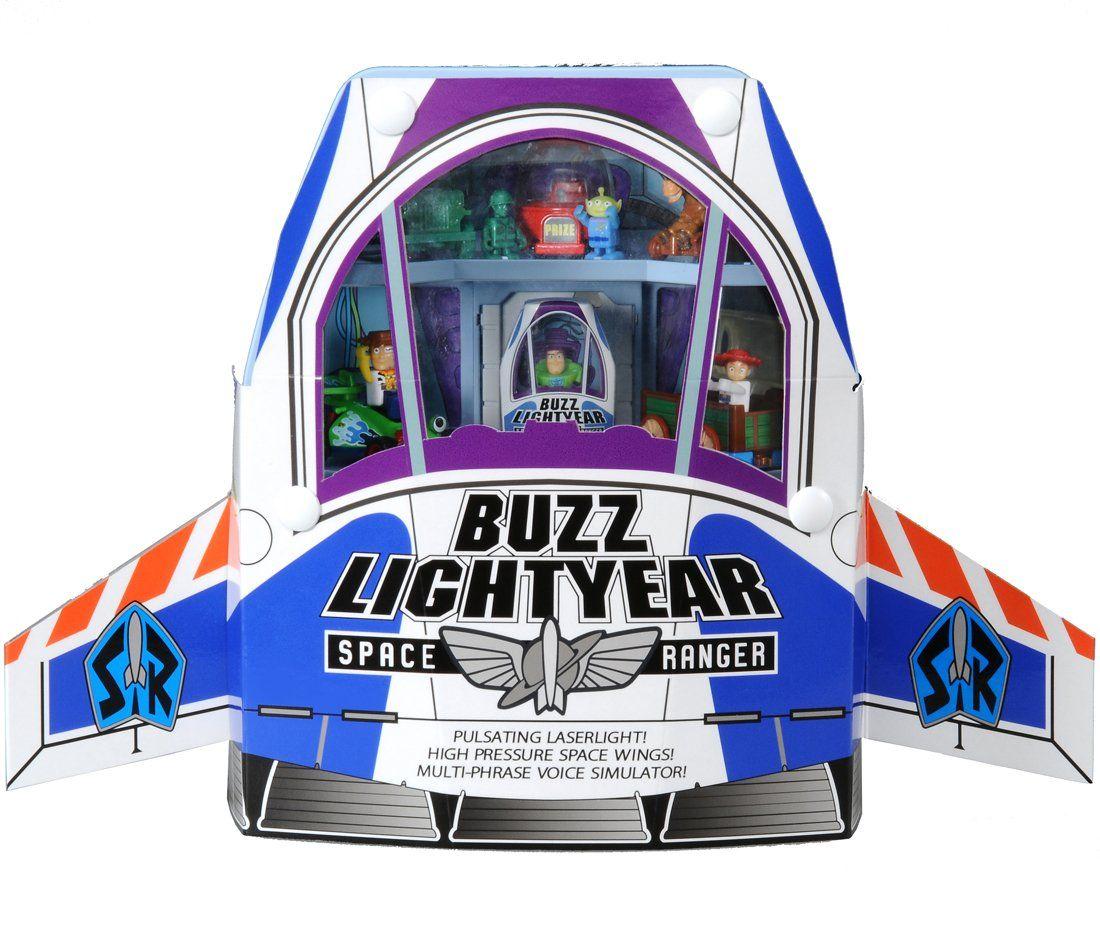Disney Parks Toy Story Buzz Lightyear Spaceship Playset New with Box