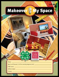 Makeover My Space From Ohio 4 H Makeover Design Basics Projects