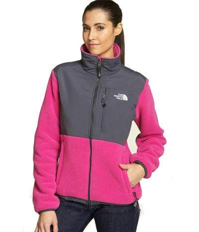 North Face Womens Denali Fleece Jacket Pink