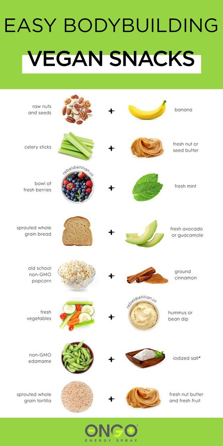 Easy Bodybuilding Vegan Snacks
