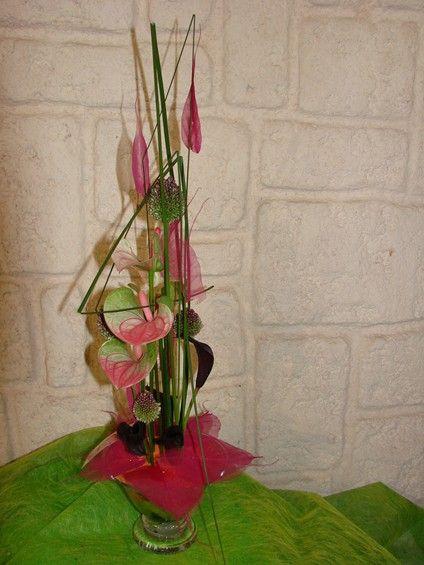 pin by les serres d 39 oc on compositions florales. Black Bedroom Furniture Sets. Home Design Ideas