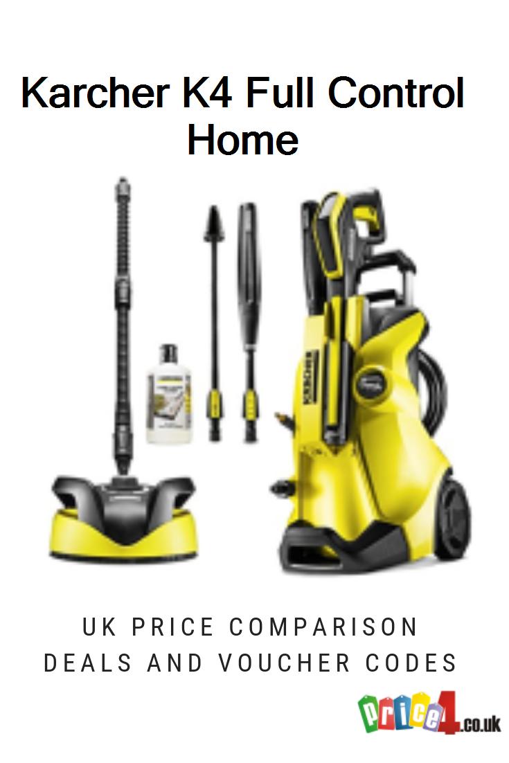 Karcher K4 Full Control Home Uk Prices Karcher K4 Full Control Home Pressure Washer Deals And Vouchers Control Pressure Washer Compare Price