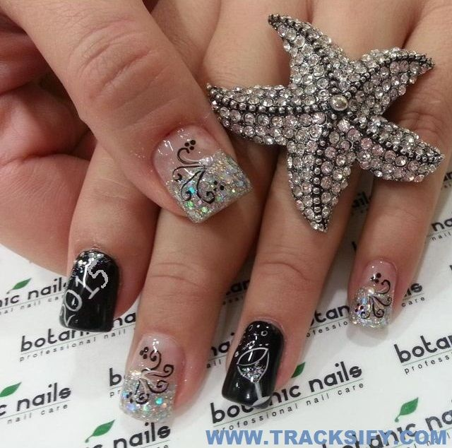 Top 25 unique happy new year eve party nail art designs new year top 25 unique happy new year eve party nail art designs new year 2015 nail prinsesfo Gallery