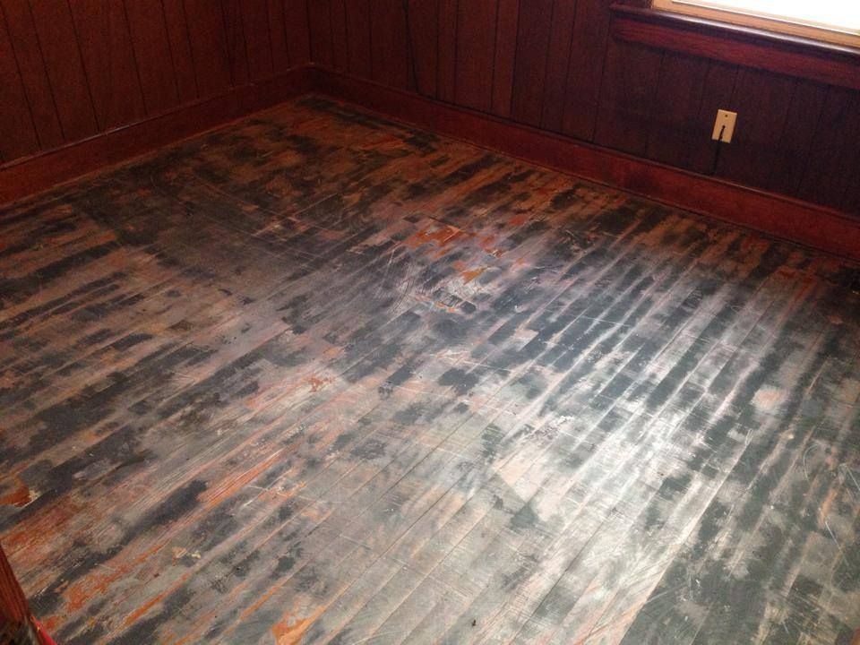 Wow this floor looks terrible check out the after photo www mr sandless wood floor refinishing the quick no sanding solution for beautiful wood floors solutioingenieria Image collections