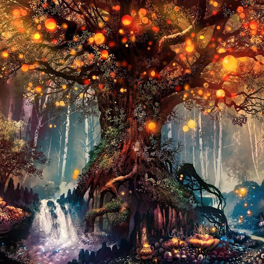 Fantasy Forest Wallpaper Engine Free Fantasy Forest Forest Wallpaper Wallpaper