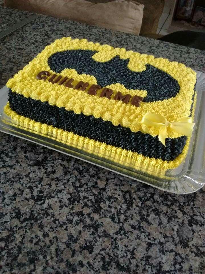 Pin De Jihan Abdulrahim Em Party Ideas Bolo Batman Festas De