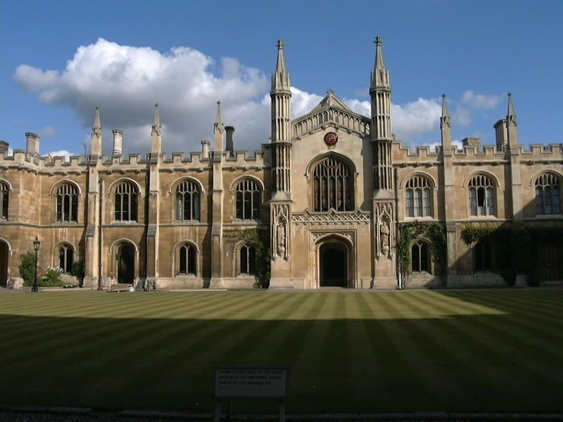 Corpus Christi College de Cambridge. Williiam Wilkins