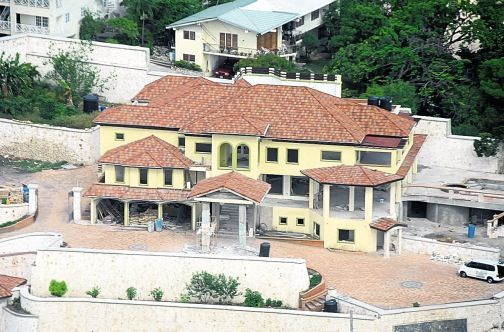 The curious case of Andrew Holness's house - Columns