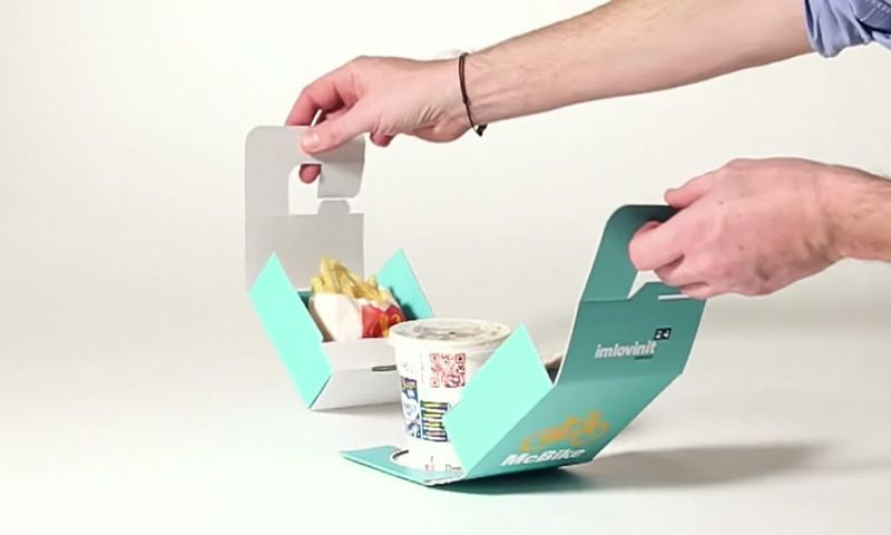 In catering to the many people that choose to bike wherever they go, McDonald's has created ultra-convenient, bike-friendly takeout packaging. Redesigned by ad agency Tribal Buenos Aires in ...
