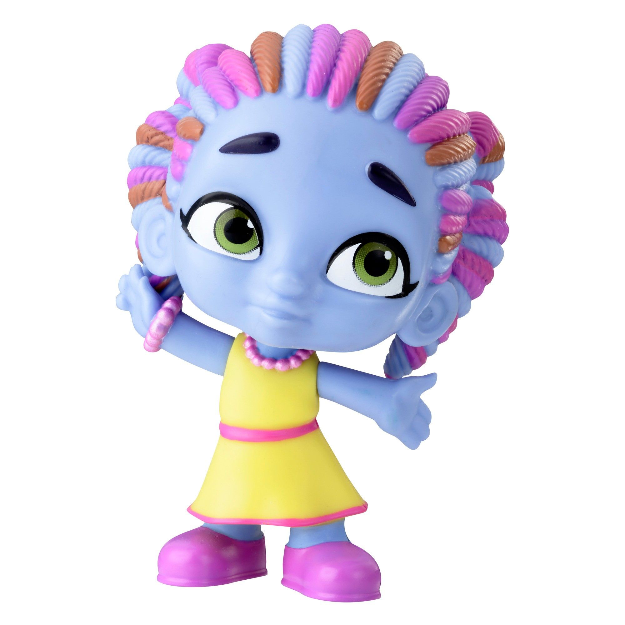 Netflix Super Monsters Zoe Walker Collectible 4 Figure Fiesta