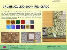 Resultado de imagen para azulejo VIDRIO reciclado