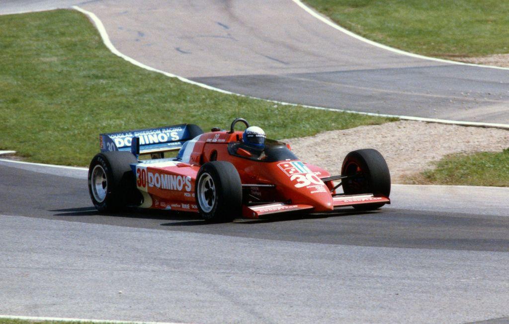 Danny Sullivan - Lola T800 Cosworth - Doug Shierson Racing - Escort Radar Warning 200 - 1984 PPG Indy Car World Series, round 11
