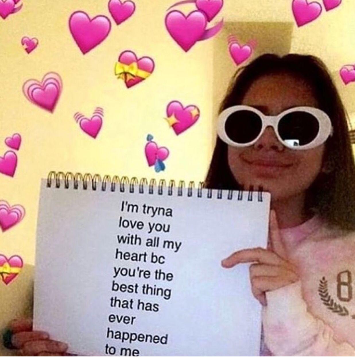 Cute love memes image by Aniyah Nelson on Feelings Love